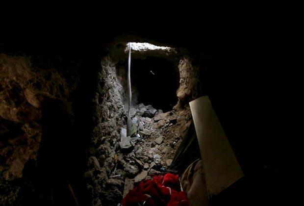 شبکه تونل مخفی داعش