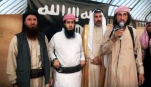 ابوعلی الانباری (چپ) مسئول تعیین محل اقامت البغدادی