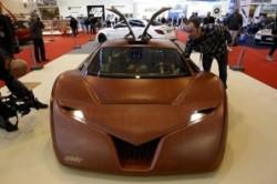 خودروی چوبی با قدرت شگفت انگیز!+عکس