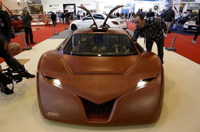 خودرویی از جنس چوب با قدرت حیرت آور