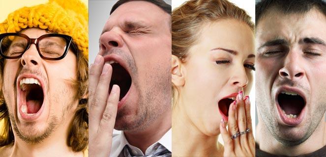 خمیازه yawn