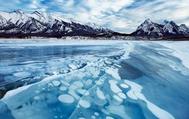 معرفی 10 دریاچه یخی زیبا در دنیا (+عکس)