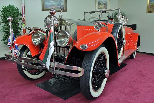 بهترین خودروهای کلاسیک دنیا,1925 rolls royce phantom رولز رویس فانتوم