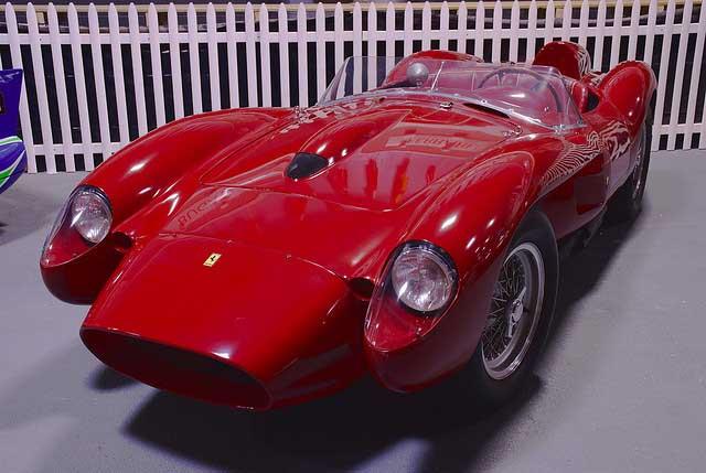 بهترین خودروهای کلاسیک دنیا,1958 ferrari 250 testa rossa 3c549 فراری ۲۵۰ تی آر