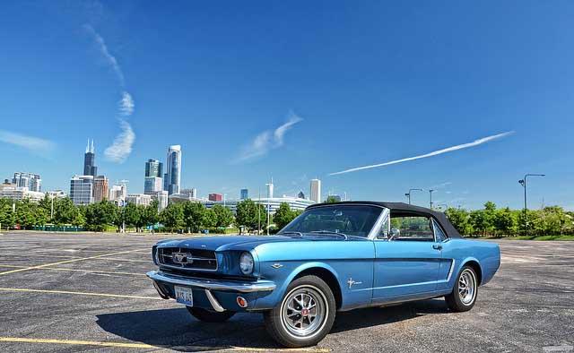 بهترین خودروهای کلاسیک دنیا,1964 5 ford mustang 3d50a