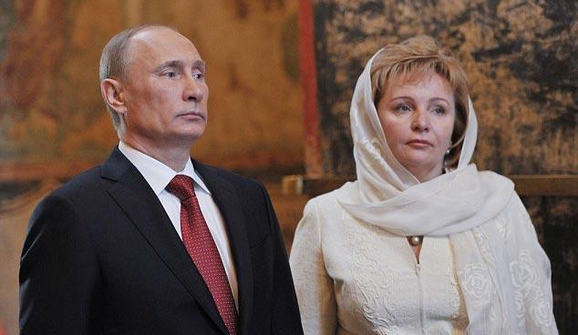 همسر قبلی پوتین