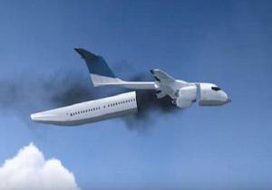 اختراع کابین های جدا شونده برای هواپیما به منظور حفظ ایمنی مسافران هنگام سقوط
