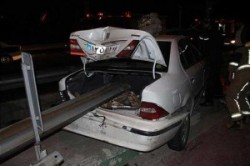 عجیبترین شکل تصادف در ایران!+عکس