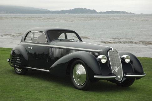 بهترین خودروهای کلاسیک دنیا,alfa romeo 1938 8c 2900b آلفا رومئپ ۸ سی
