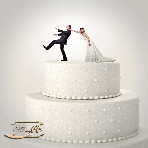 خرافات و باورهای غلط درباره کیک عروسی