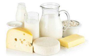 لبنیات dairy-products-high-protein-foods