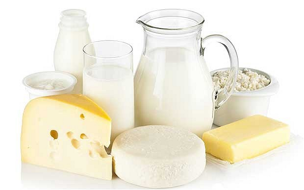 لبنیات dairy-products-high-protein-foods