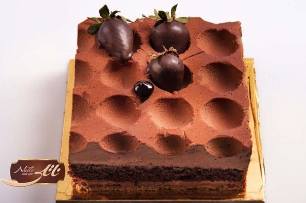 کیکهای لاکچری ناتلی انتخابی متفاوت