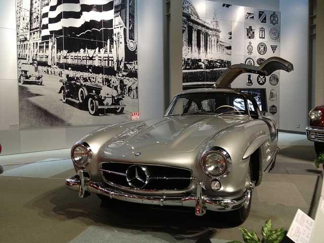 بهترین خودروهای کلاسیک دنیا,mercedes benz 300 sl coupe 1955 c60c9 مرسدس اس ال