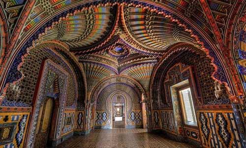 رنگارنگترین قصر اروپا در ایتالیا+عکس