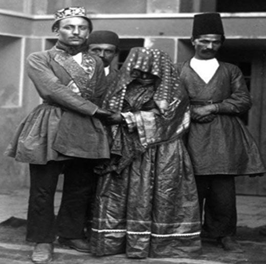 عروس و داماد در دوران قاجار