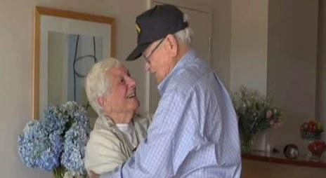 لیلی و مجنون آمریکایی پس از 70 سال به هم رسیدند +تصاویر