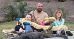 خانواده عجیب آمریکایی؛زندگی با خزندگان خطرناک!+عکس