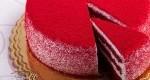 کیک قرمز مخملی کیکی 300 دلاری