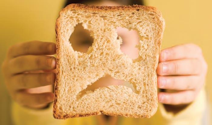 سلیاک sad-bread-Celiac