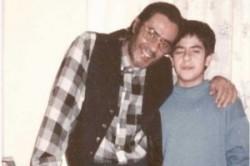 تعریف جالب خسرو شکیبایی از زبان پسرش + عکس