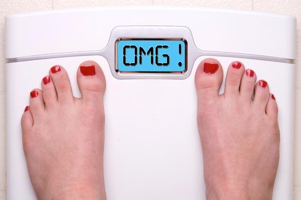 زیاد شدن وزن weight-gain
