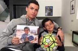 درخواست رونالدو و پسرش برای کمک به کودکان سوریه+عکس