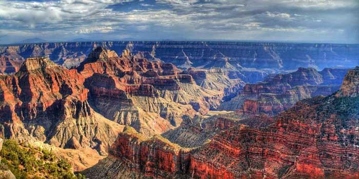 خطرناک ترین جاذبه های گردشگری دنیا,گراند کانیون