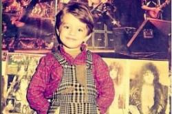 عکس کودکی بهرام رادان/اینستاگرام
