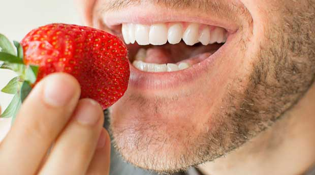 دندان سفید food-for-white-teeth