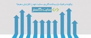افزایش ترافیک سایت website-traffic