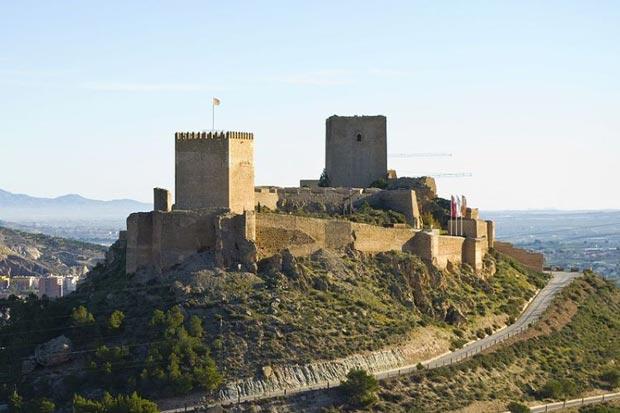 قلعه لورکا-lorca_castle