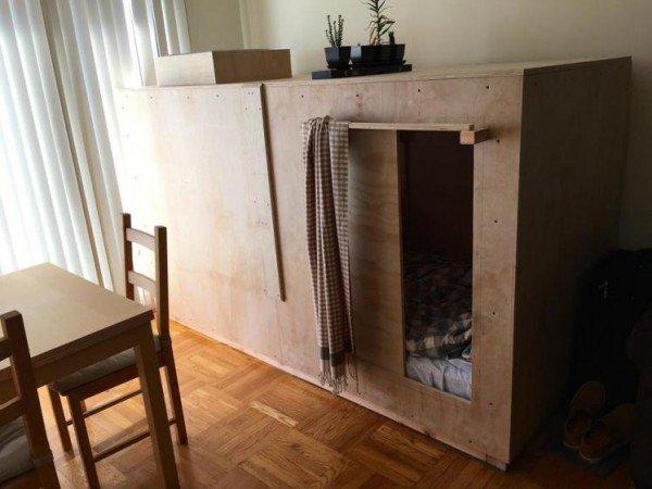 خانه چوبی کوچک