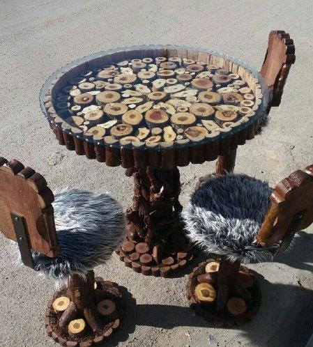 هنرنمایی با چوب