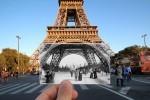 هنرنمایی؛ ترکیب زیبای عکسهای قدیمی و جدید