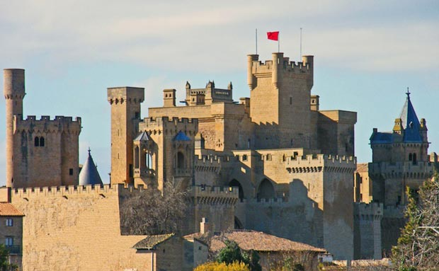 قلعه olite_castle