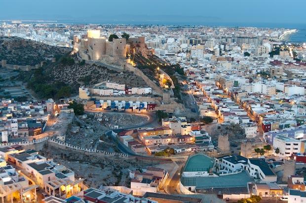 قلعهی آلکازابا آلمریا-alcazaba_of_almeria