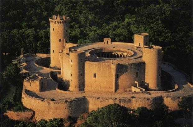 قلعهی بلور-Bellver-Castle