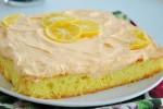 کیک کاراملی ژله ای Creamsicle-Cake-Jello-Cake
