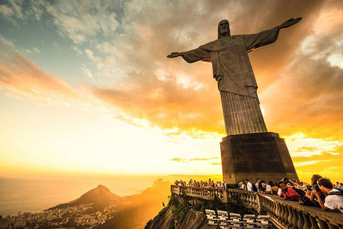 زیبایی غروب در «ریو دو ژانیرو»، صد چندان می شود