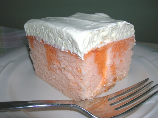 کیک پرتغالی best-orange-dreamsicle-cake