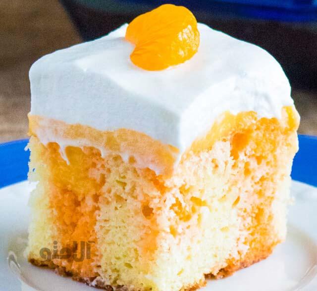 کیک ژله ای خوشمزه