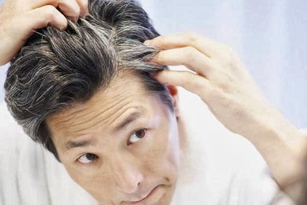 سفید شدن مو gray-hair