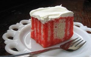 کیک ژله ای jello-cake