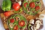 پیتزا گیاهی raw-pizza