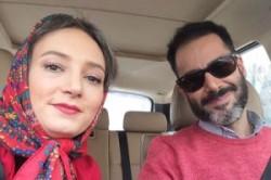 واکنش سحر ولدبیگی پس از کچل شدن همسرش توسط مهران مدیری! عکس