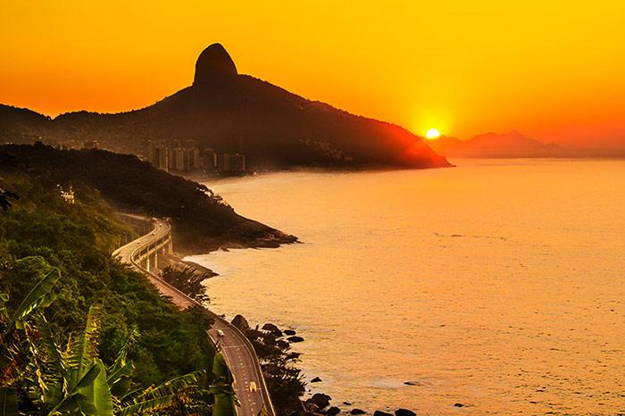 5 مکان شگفت انگیز برای دیدن غروب خورشید در «ریو دو ژانیرو»