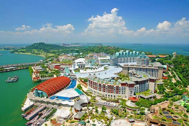 تور ارزان سنگاپور - جزیره سنتوسا-sentosa_island