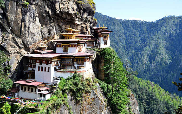 معبد Tiger's Nest، بوتان