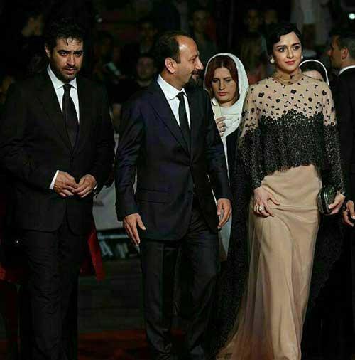 ترانه علیدوستی، شهاب حسینی و اصغر فرهادی در جشنواره کن +عکس